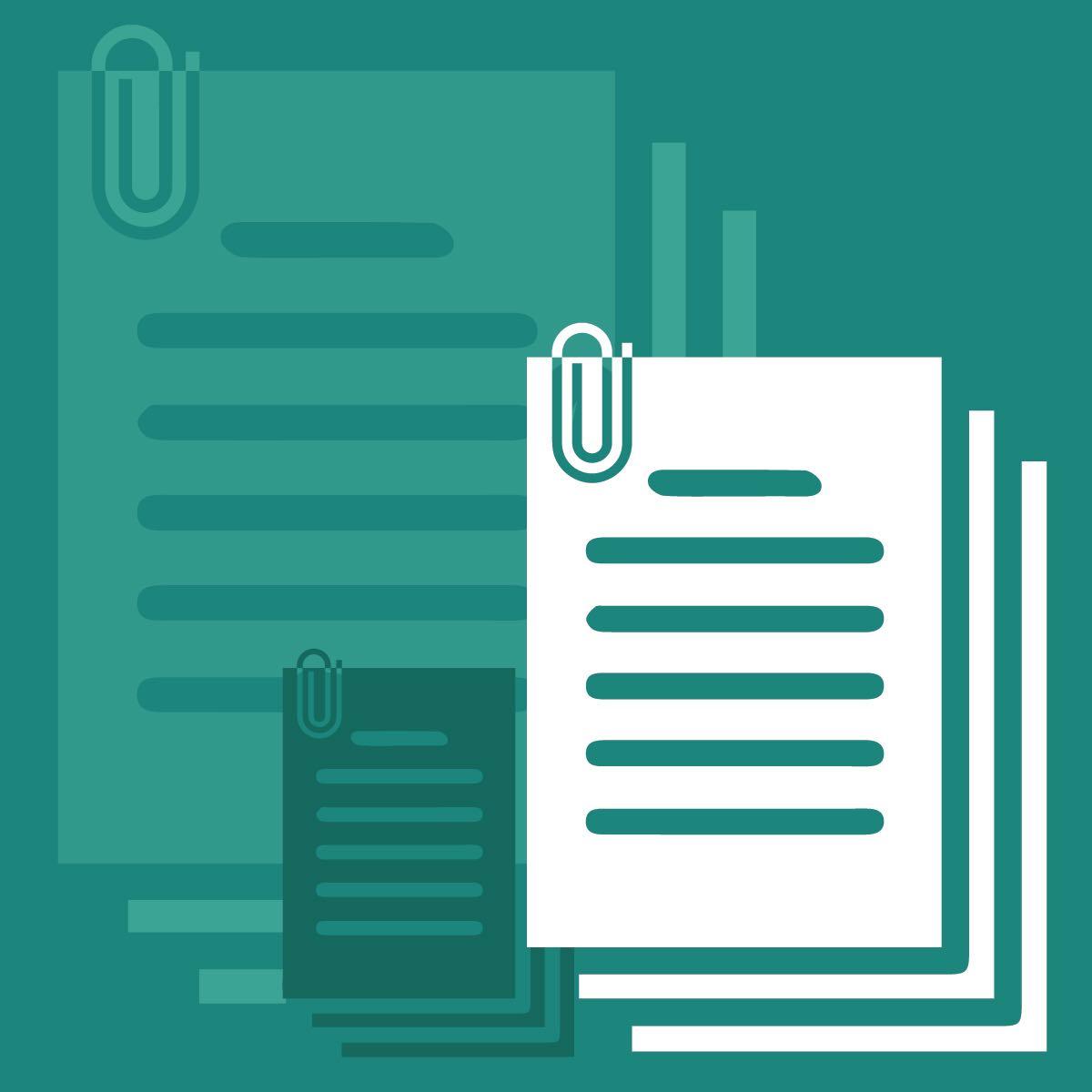Documents corner